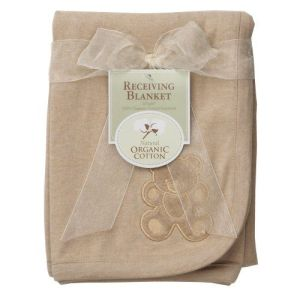 American-Baby-Company-Organic-Embroidered-Receiving-Blanket-Mocha-0