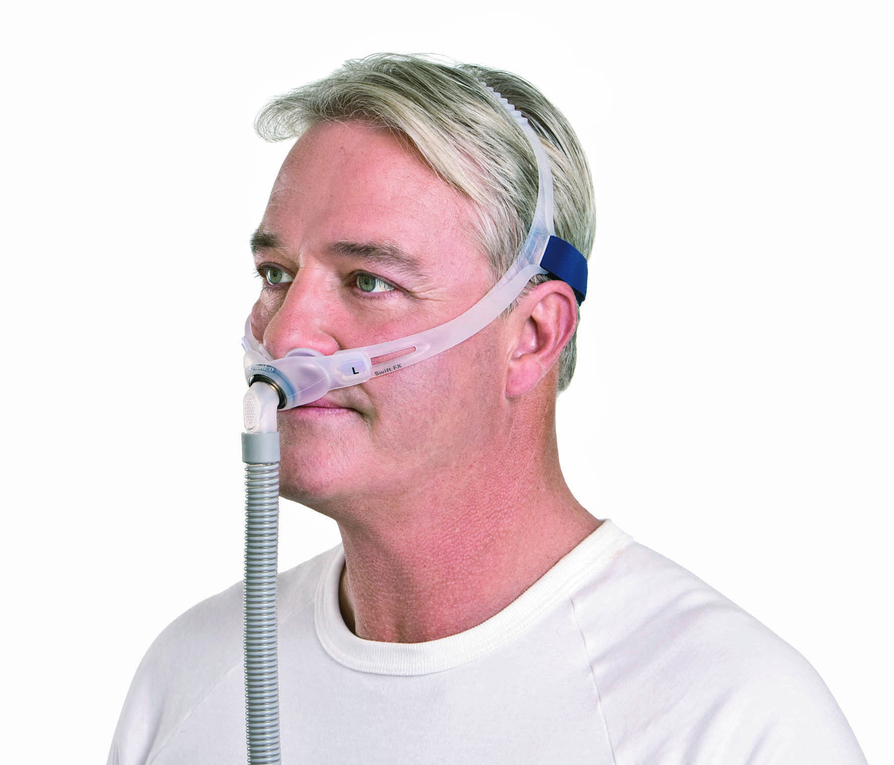 swift fx nasal pillows mask system with headgear