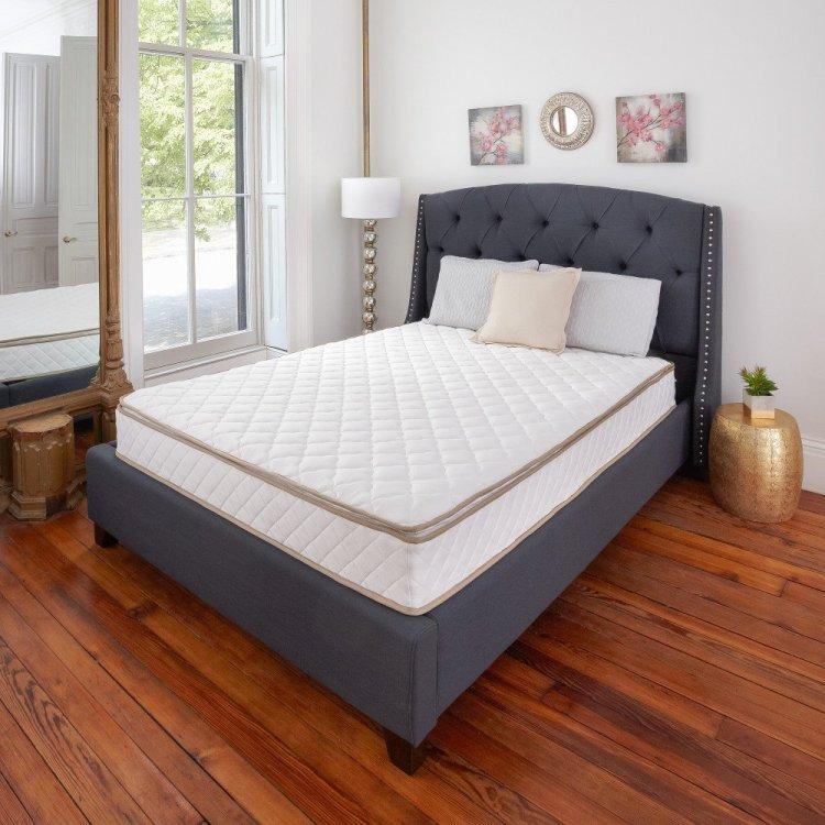 Classic Brands Pillow-Top Innerspring 10-Inch Mattress