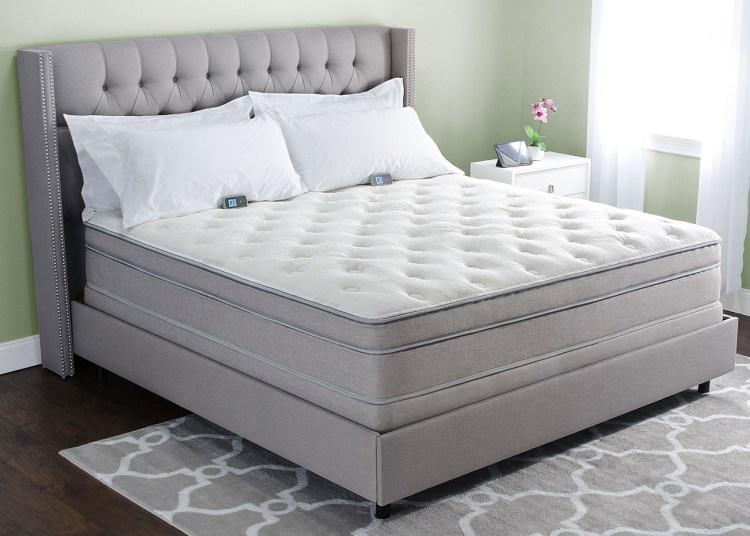 Comfort layer sleep number bed