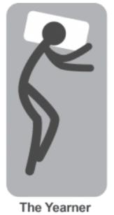 Yearners posture