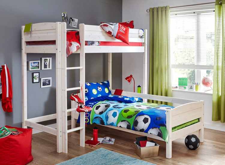 Bunk Bed manage extra storage space
