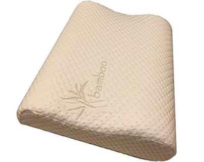 Perform Pillow Thin Profile Memory Foam Double Contour Neck Pillow