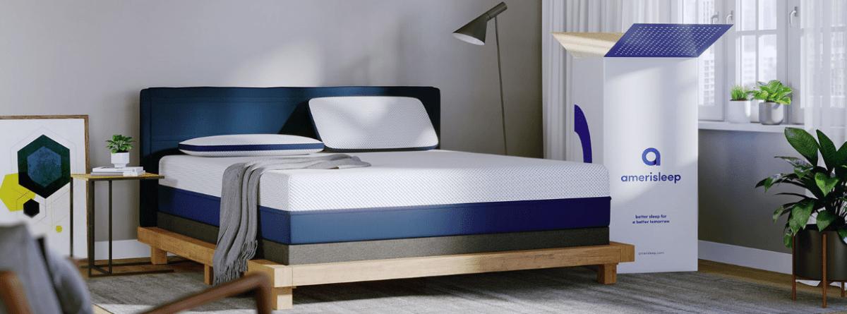 AmeriSleep memory foam mattress for mental and physical health