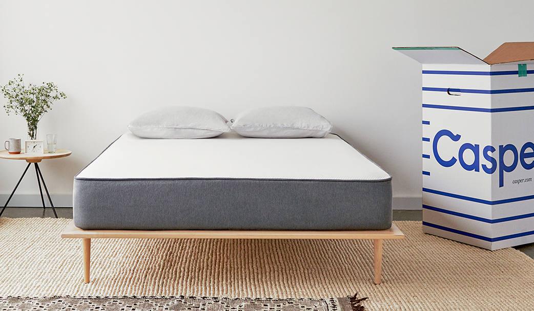 Casper Zoned support different layers memory foam mattress