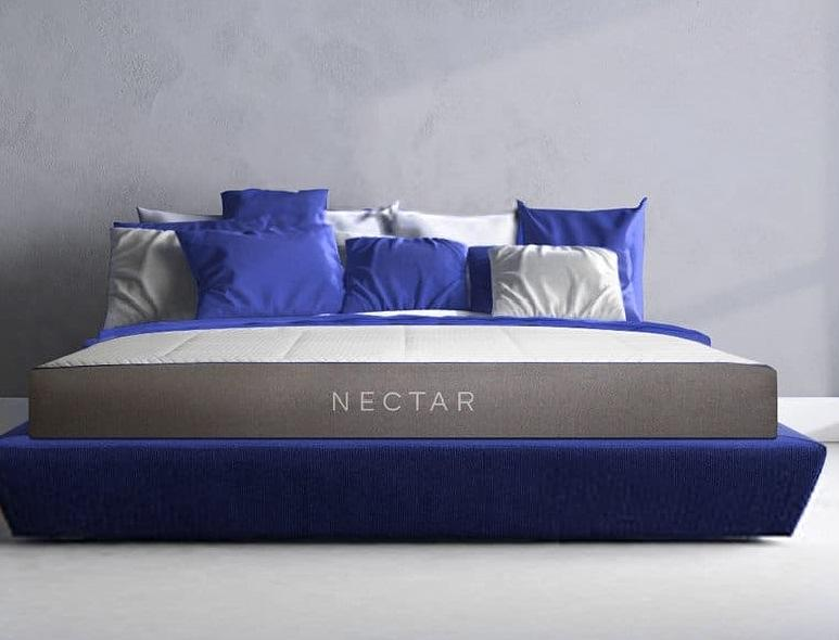 Nectar gel infused memory temperature regulation mattress