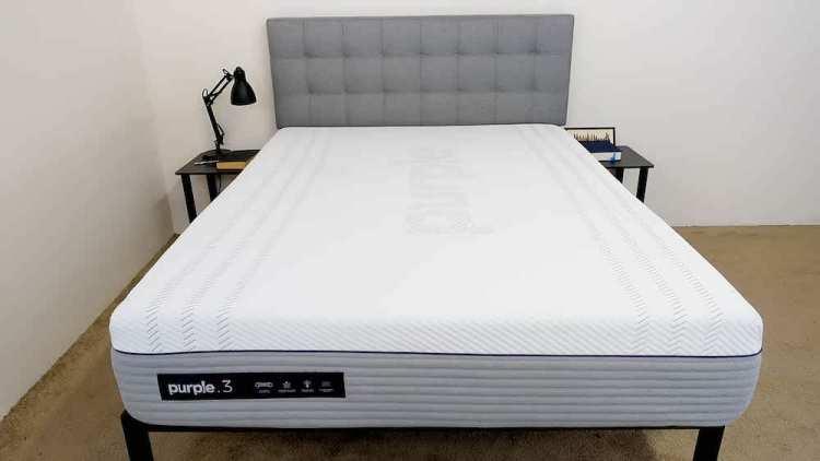 Purple Hypoallergenic mattress for Pressure Relief
