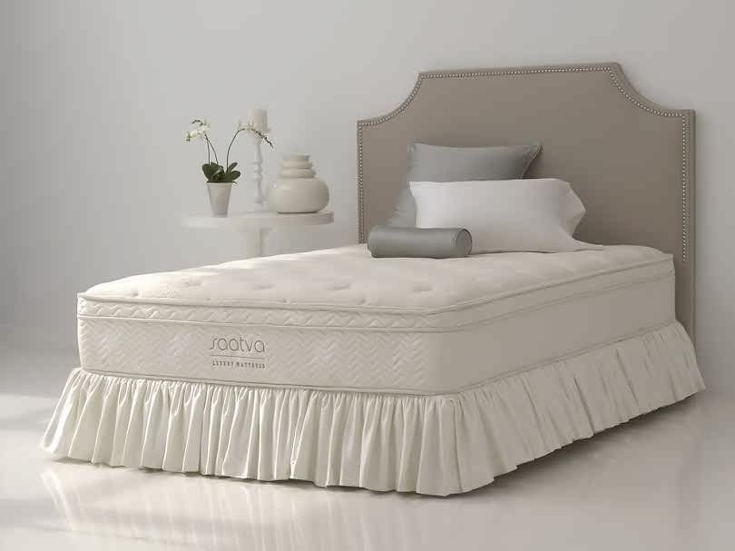 Saatva dual parameter edge system mattress
