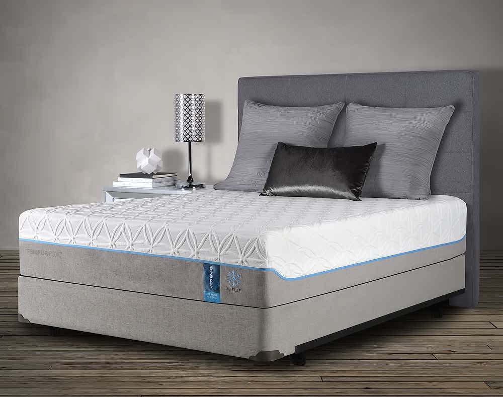 TEMPUR Pedic super soft polyurethane foam mattress