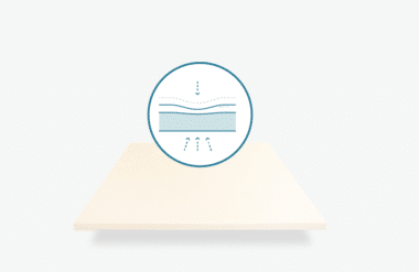 pressure relief support of leesa mattress