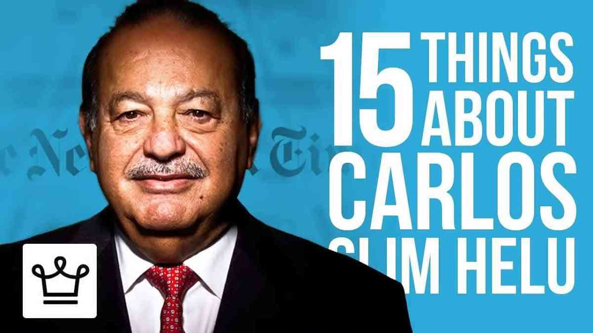 Carlos Slim Helu more than 200 companies of banking and telecommunications