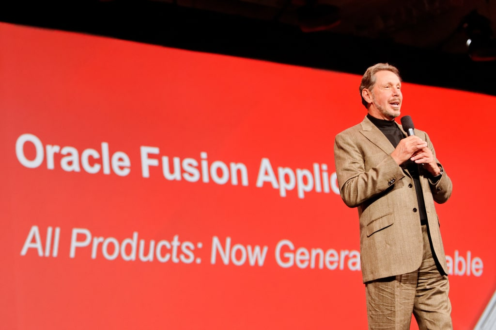 Former CEO of Oracle Larry Ellison