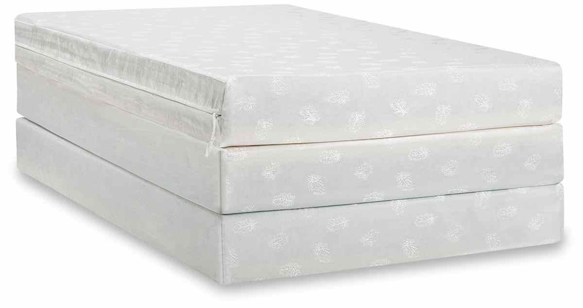 zinus folding mattress
