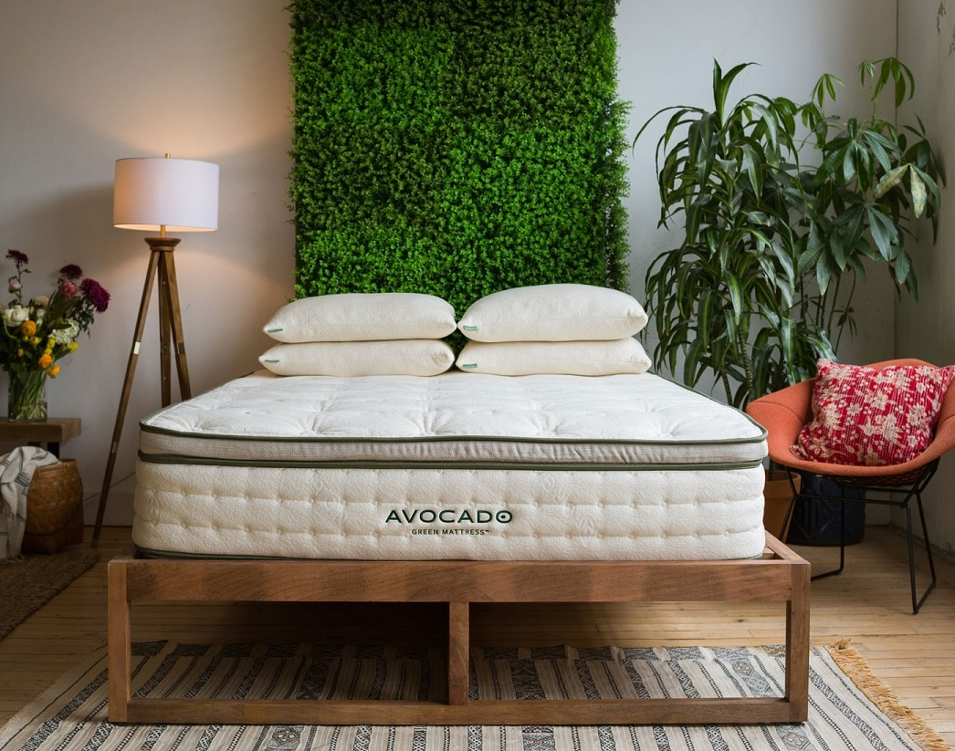 Avocado natural latex Green Mattress
