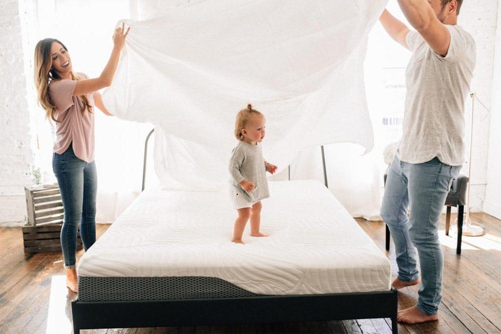 Voila motion isolation mattress