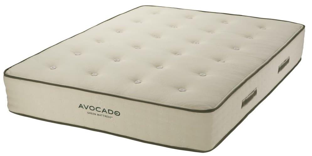 construction of avocado green mattress