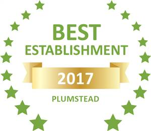 Sleeping-OUT's Guest Satisfaction award Plumstead 2017