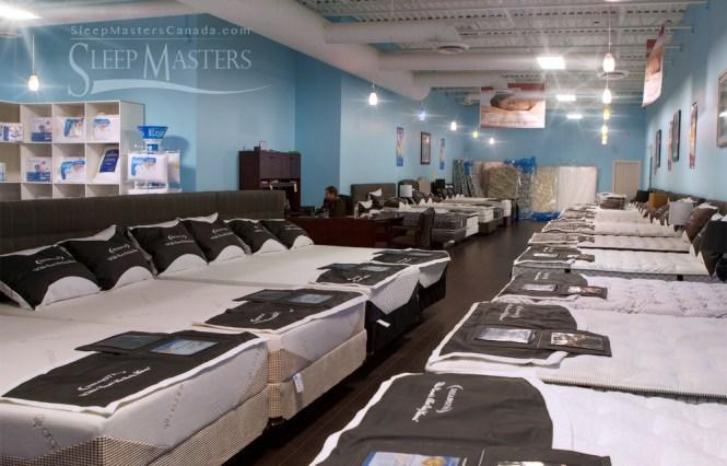 Sleep Masters Canada Mississauga Showroom S