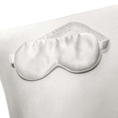 silk pillowcase and sleep mask set