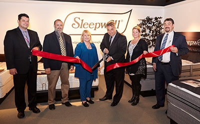 Sleepwell High Point Showroom Ribbon Cutting