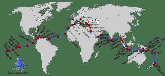Weltumsegelung 2007 – 2010