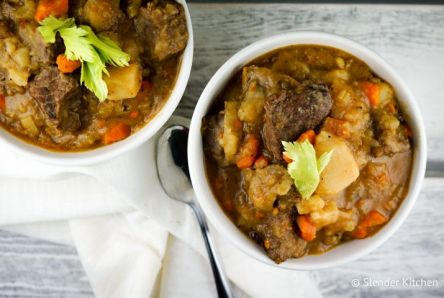 Healthy Instant Pot Beef Stew (or Slow Cooker)