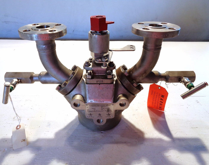 Anderson Greenwood Crosby Safety Selector Valve W 1 150
