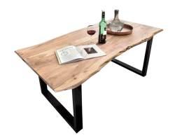 SIT Tops & Tables Esstisch Akazie Baumkante Slim • slewo.com