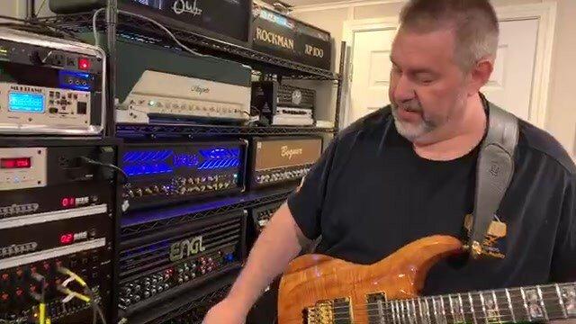 switch between amps in recording studio