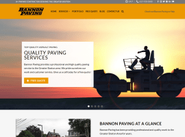 Bannon Paving - Asphalt and Paving Driveways and Parking Lots