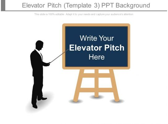 Elevator Pitch Template3 Ppt Background PPT Images Gallery PowerPoint Slide Show