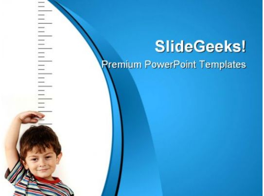 Growing Child Health PowerPoint Templates And PowerPoint Backgrounds 0811 PowerPoint