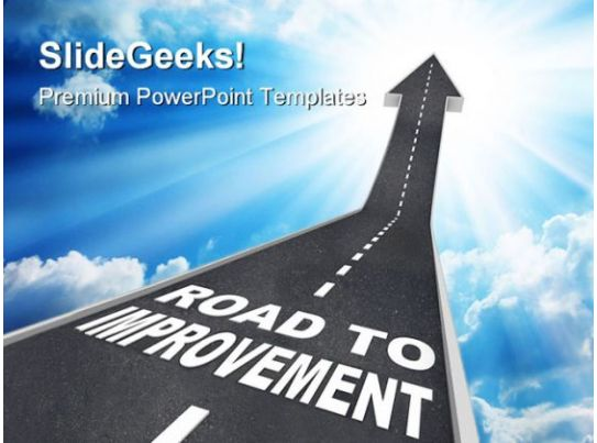 Road Construction Powerpoint Templates