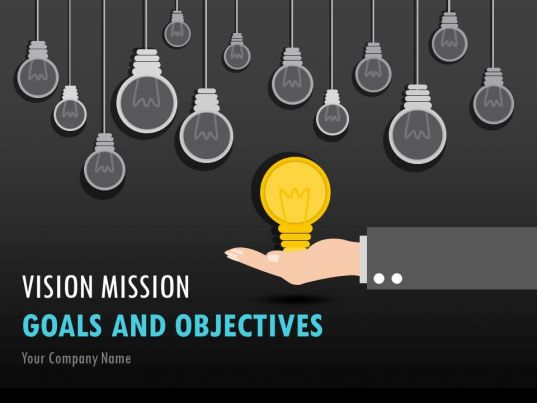 Vision Mission Goals And Objectives PowerPoint Presentation Slides PowerPoint Slide Templates