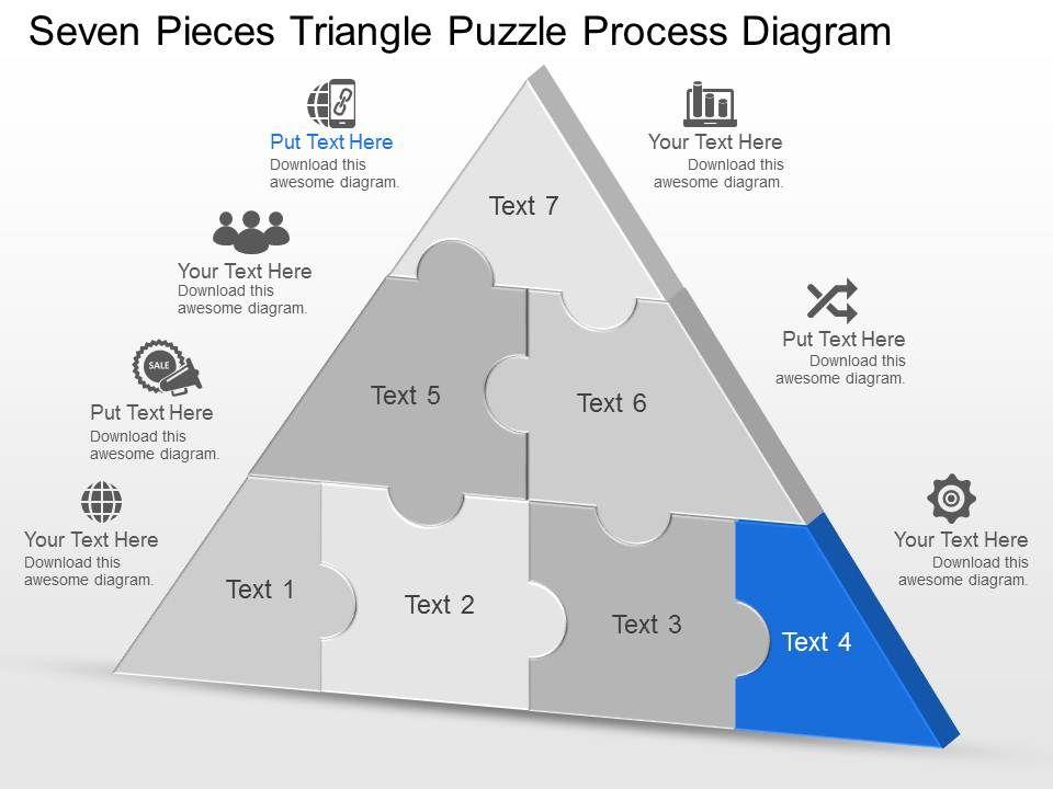 seven piece puzzle template