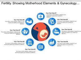 Fertility Showing Motherhood Elements And Gynecology