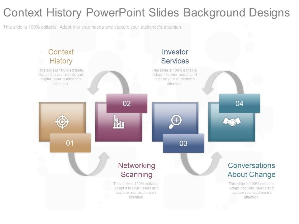 Context History Powerpoint Slides Background Designs