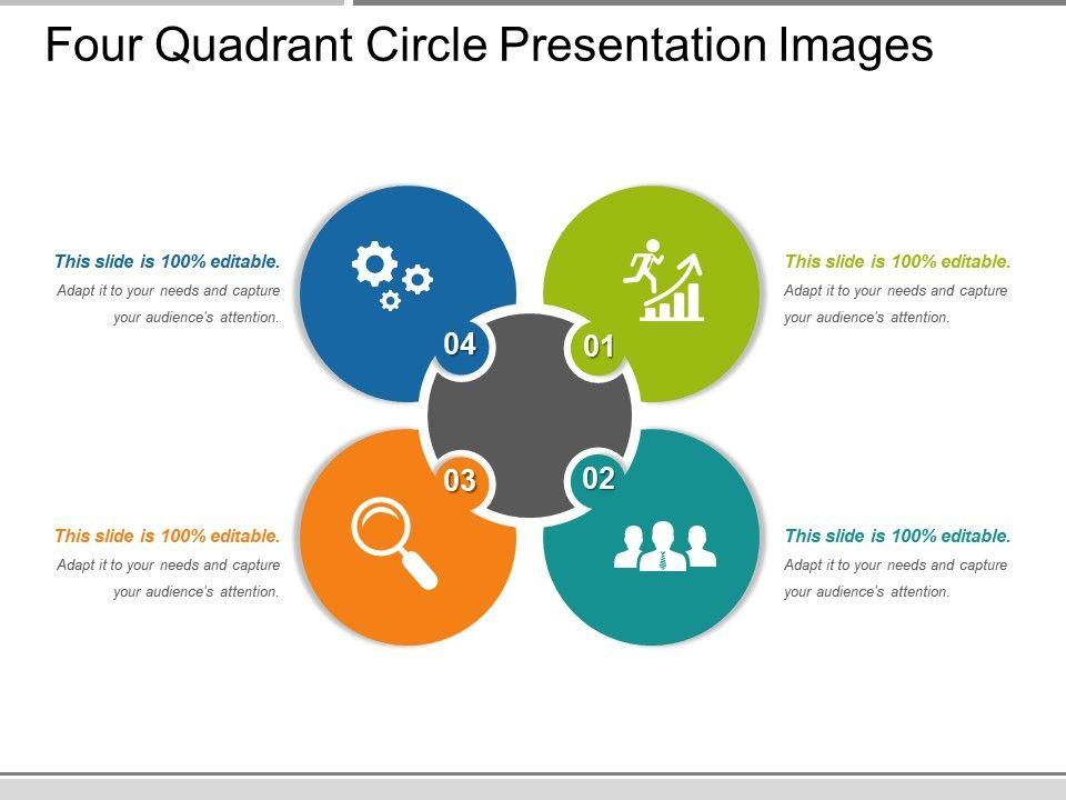 Four Quadrant Circle Presentation Images