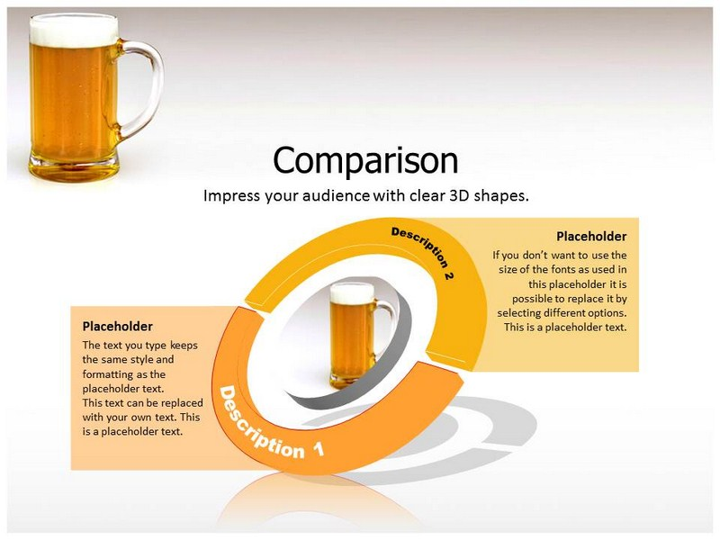 free powerpoint alcohol templates and backgrounds slide