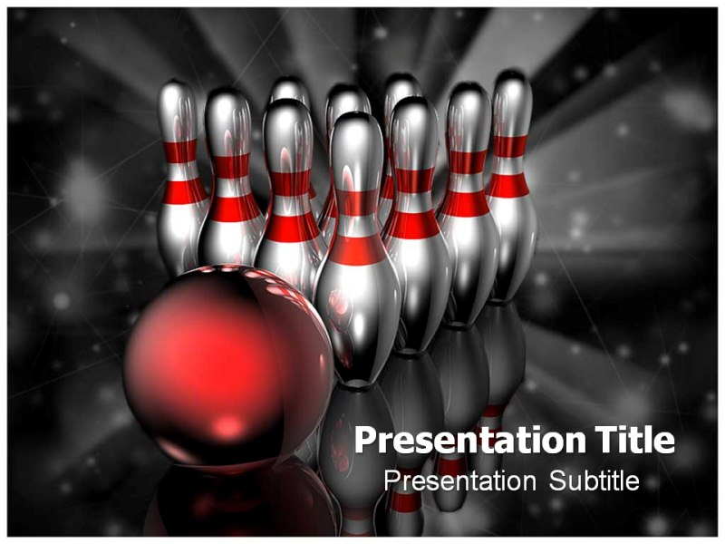 Bowling Rules Powerpoint Templates Powerpoint Presentation On Bowling Rules Template Ppt