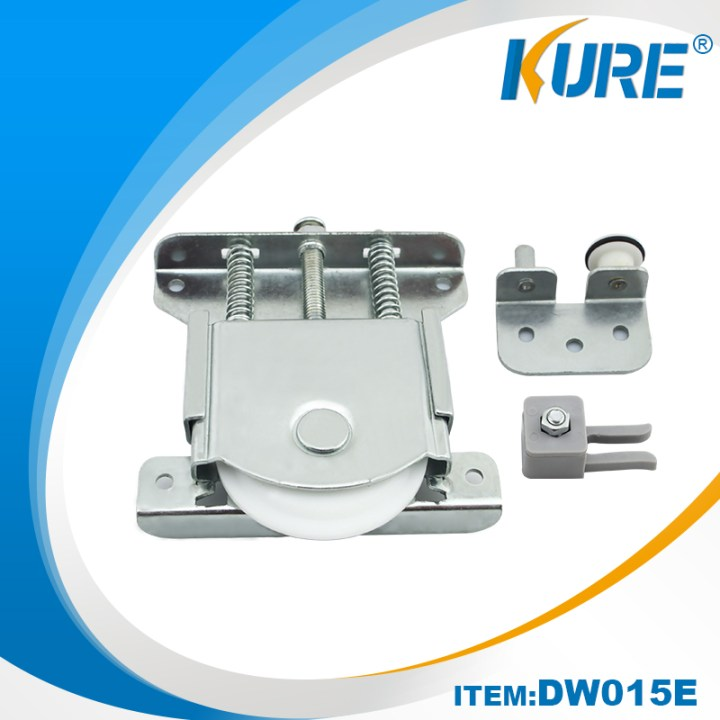 China Gold Supplier For Floor Guide Barn Door Cabinet Sliding Rollers Kure