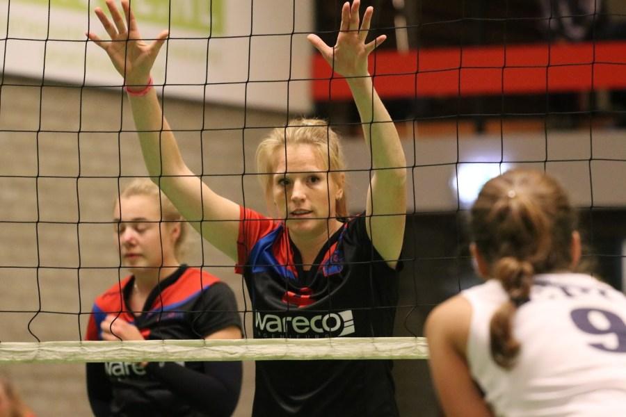 Team en staf Dames 1 Sliedrecht Sport compleet