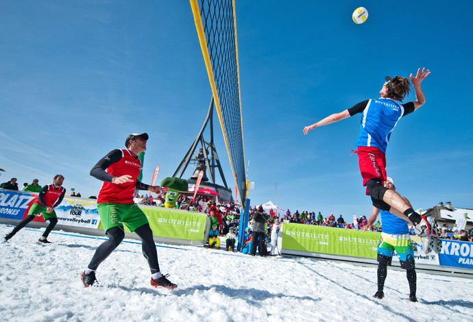 Sneeuwvolleybal bij Sliedrecht Sport?