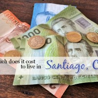 How much does it cost to live in Santiago, Chile?