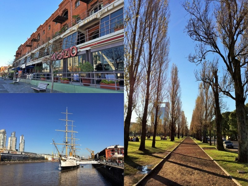 Puerto Madero collage