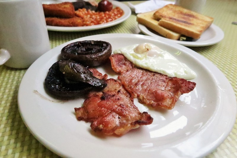 English breakfast plate 1