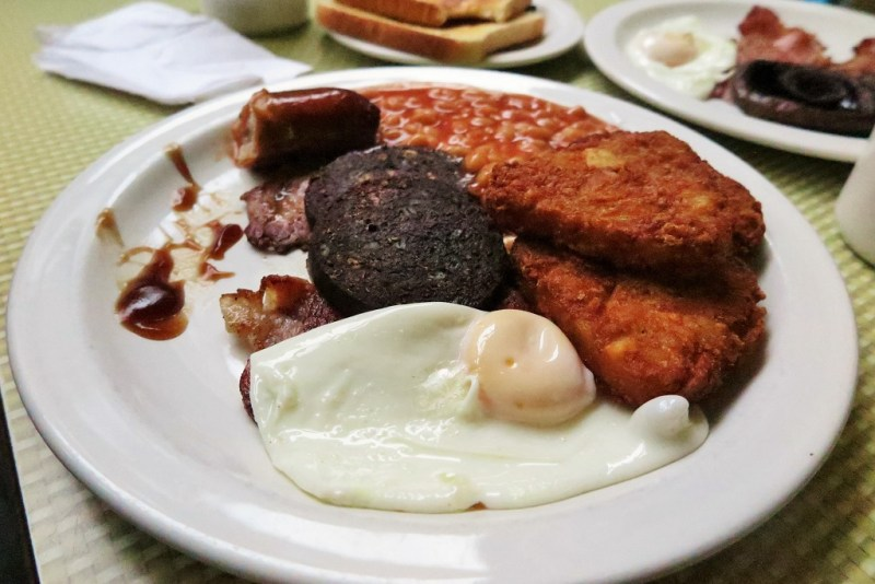 English breakfast plate 2