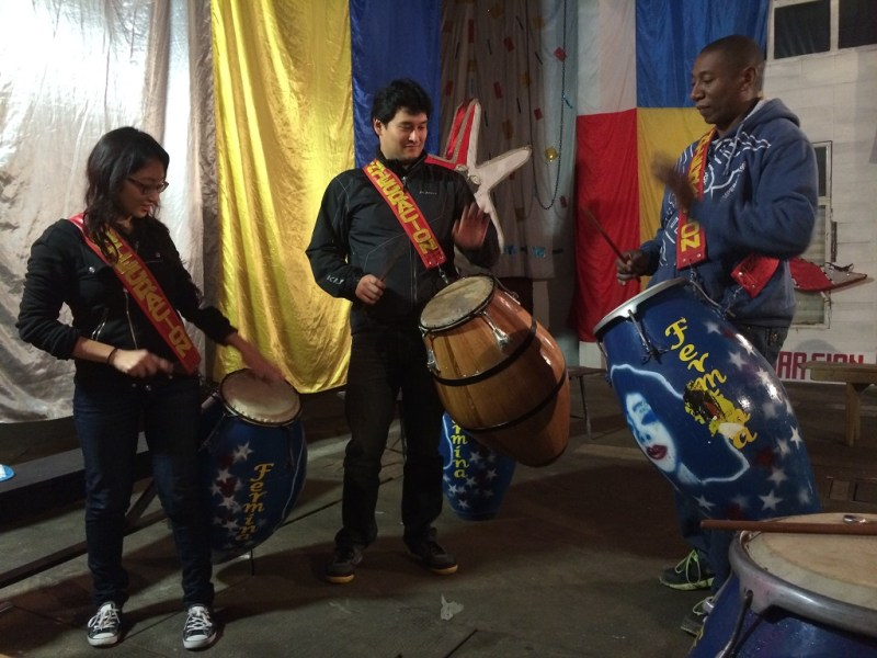 learning candombe
