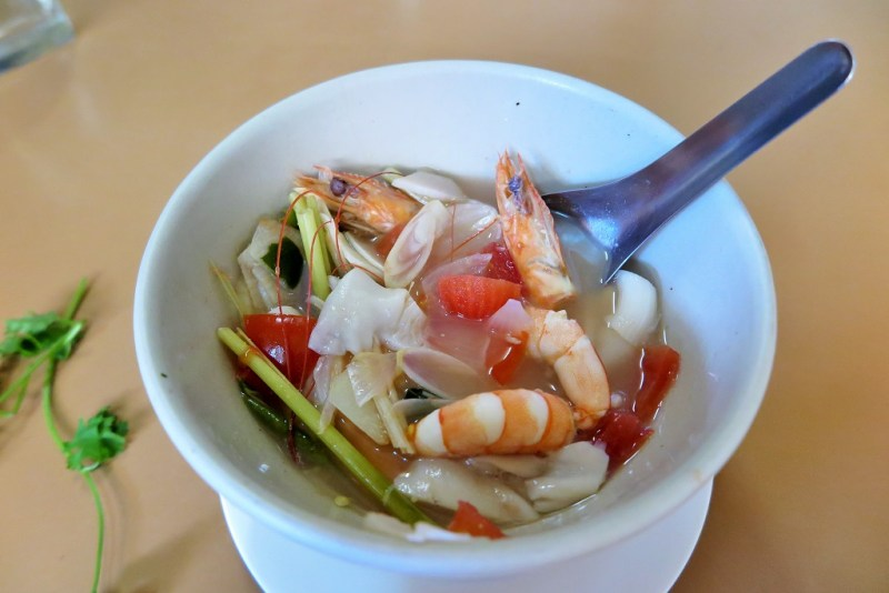cooking class tom yam goong