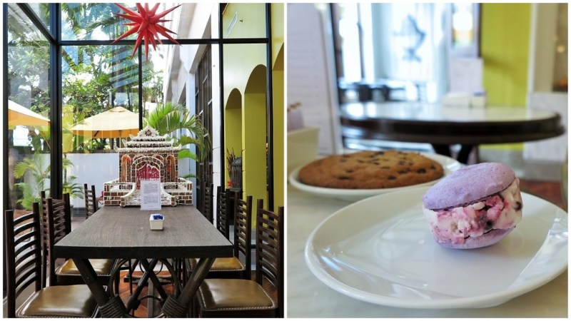 tea and desserts at Glasshouse: US$8